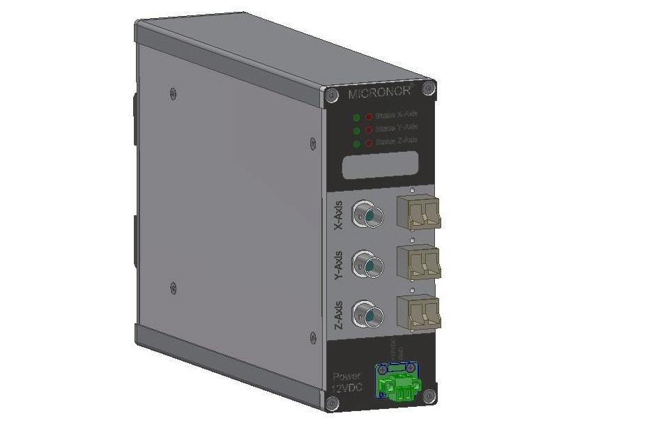 MR660-3 Beschleunigungsmesssystem optische Sensoren