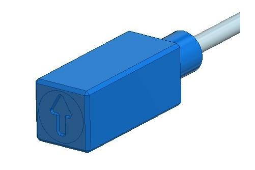 MR664-3 Beschleunigungsmesssystem optische Sensoren