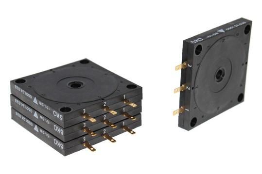 Potentiometer für Getriebeendschalter und Motorpotentiometer