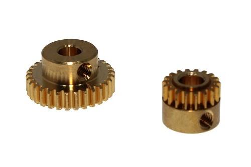 Zahnräder für Getriebeendschalter und Motorpotentiometer